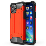 Military Defender Shockproof Case for Apple iPhone 11 Pro Max - Red